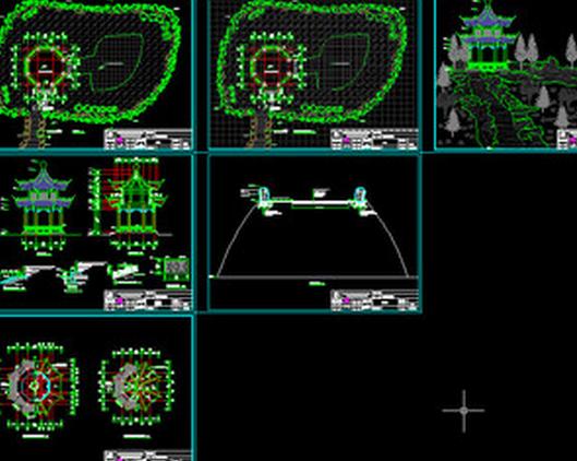 假山CAD平面图画cad2010画箭头中怎么图片