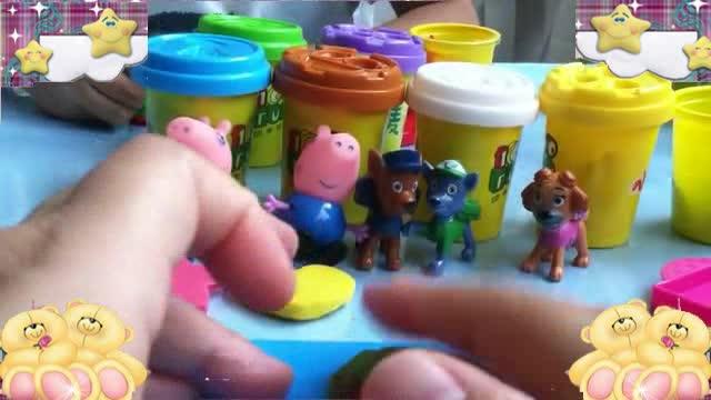 汪汪队立大功玩具2 橡皮泥动画手工制作视频76-制作五彩糖果-优雅.