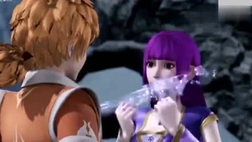 妖神记:聂离把绝世宝剑送给了叶紫芸,真爱啊!