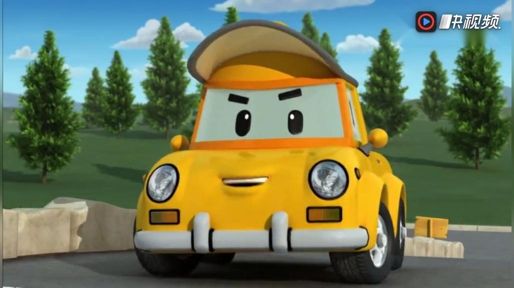 《变形警车珀利》小汽车不排队还插队,原来他有第一位的排号票