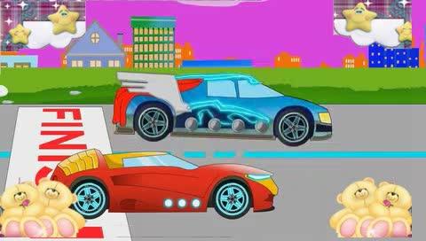 消防车卡通幼儿,儿童汽车视频汇编,救护车和警车