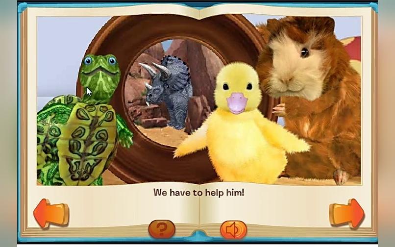 小动物总动员营救小恐龙游戏
