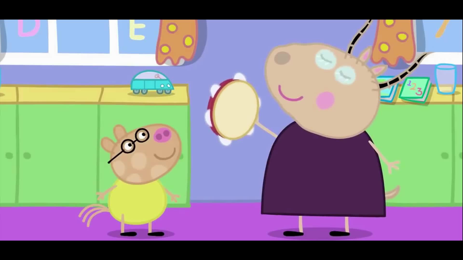 小猪佩奇 第三季 动漫 佩佩猪波莉去游船 绘画涂鸦视频【游戏大风车】