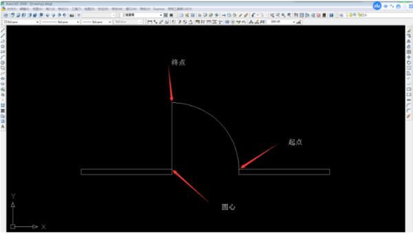 CAD画门的长方形画就是一个长方形还有cad恢复先行怎么打印图片
