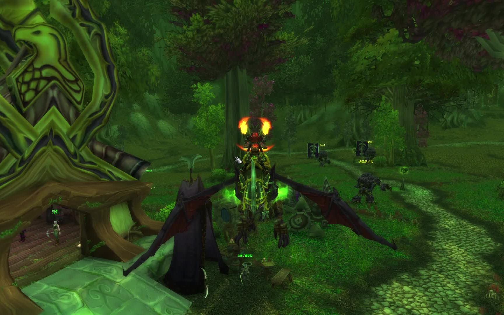 【魔兽世界】经典任务线之费伍德森林篇--魔兽争霸3相关
