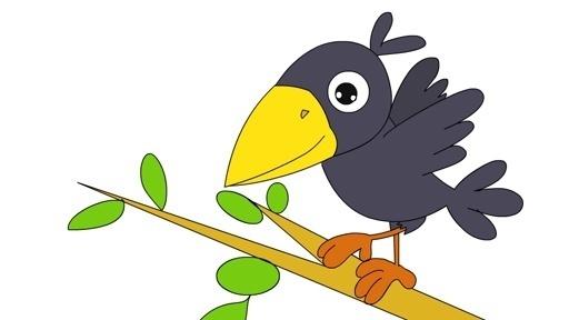 小乌鸦学找窝经典幼儿儿童睡前安徒生童话格林故事动画视频大全连播