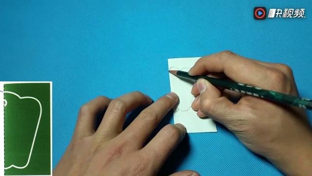 手工diy教学 剪纸辣椒青椒 儿童剪纸教程大全 折纸王子 亲子游戏