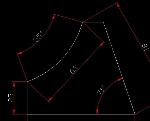 CAD中这个电视画?求解_360v电视标准cad多少尺寸合适弧线图片