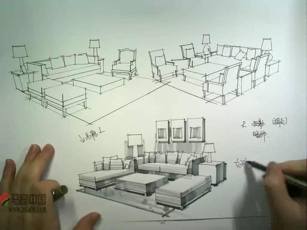 室内设计手绘