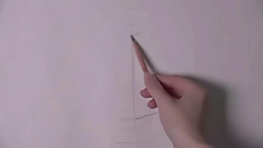 素描视频入门教程 铅笔画漫画人物古风 入门素描图片教程