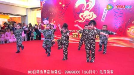 幼儿舞蹈小班幼儿园六一舞蹈2018最新舞蹈《小猴子的勇敢军队》