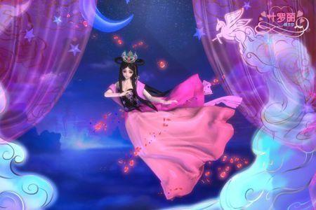 精灵梦叶罗丽的女主是一个还在上学的小女孩王默.图片