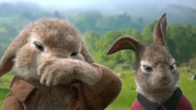 最新喜剧电影《比得兔》精彩片段欣赏