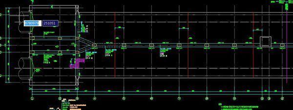 CAD图纸中的方格网楼板,在图纸的字体上cdr的v图纸意思好看图片