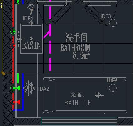 CAD空间模型中的线正常看不到,但选到,或cadv空间中怎样标注把框图片