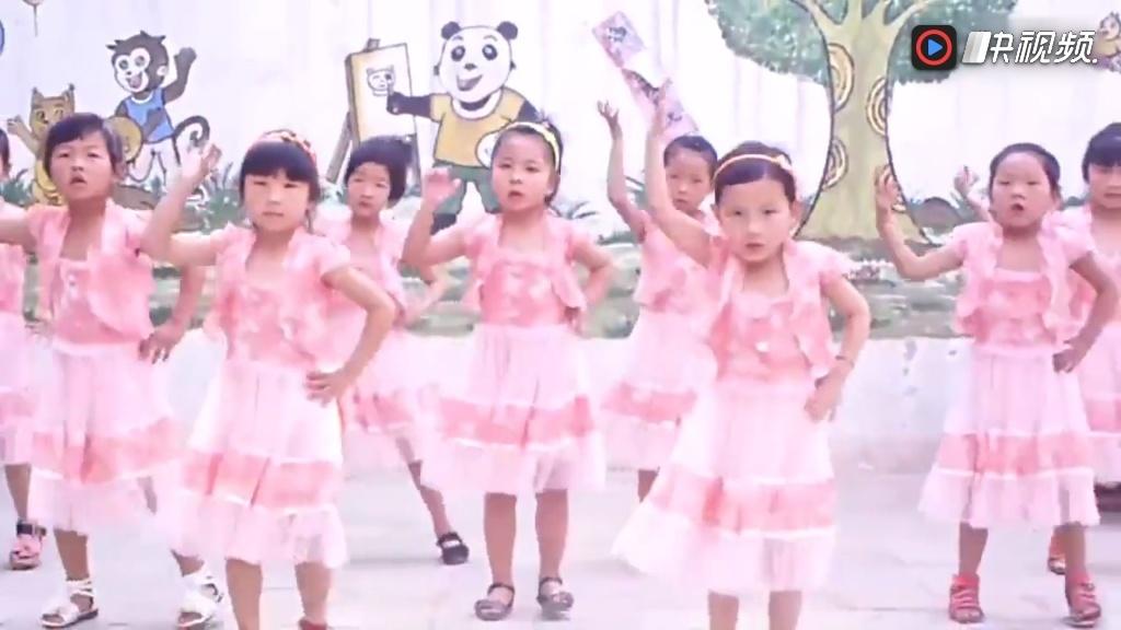 幼儿园舞蹈 学前舞蹈儿童舞蹈分解教学视频采集