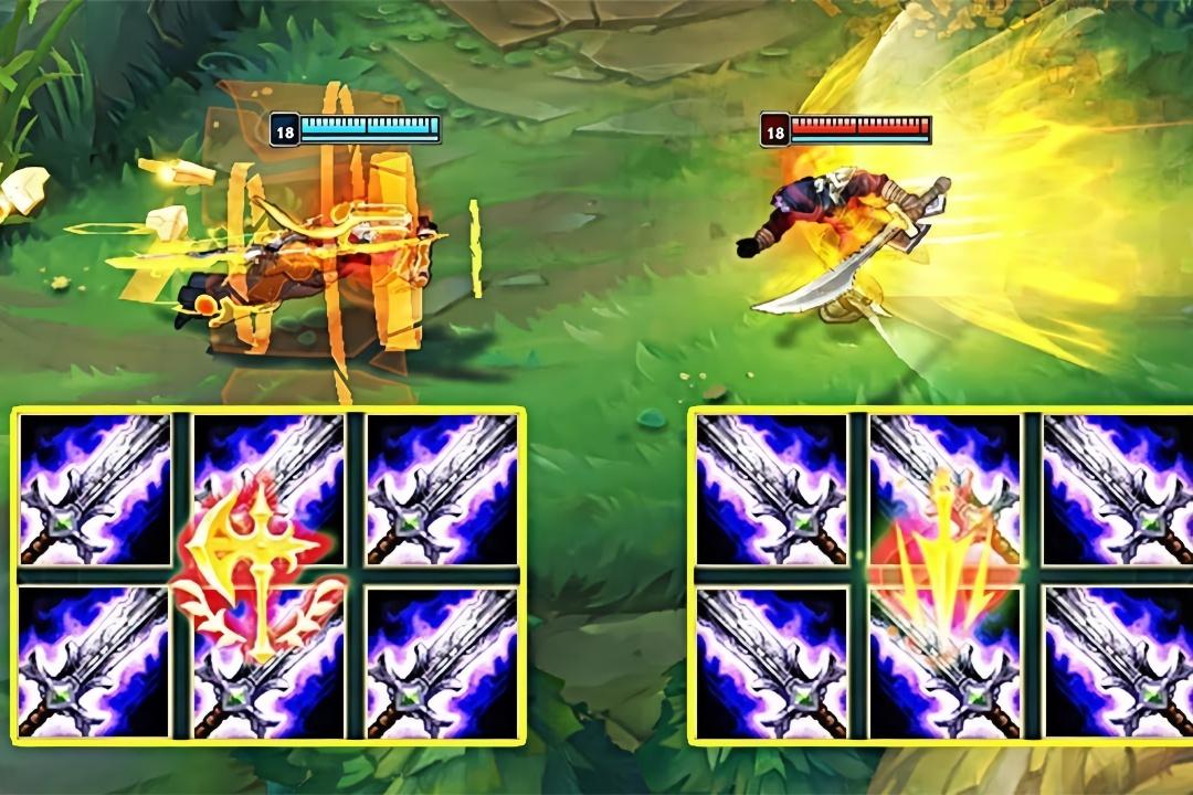 英雄联盟:致命节奏易vs征服者易,谁更胜一筹?艾瑞泽5和蓝鸟哪个好图片