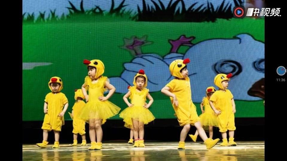 幼儿舞蹈 数鸭子 拨浪鼓 舞蹈教学 六一圣诞节儿童节目 儿歌