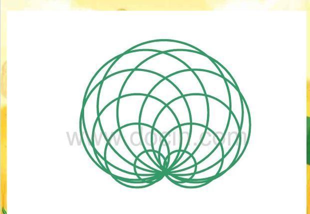 北师大版数学六年级上册《欣赏与设计》心脏线什么画要详细步骤?图片