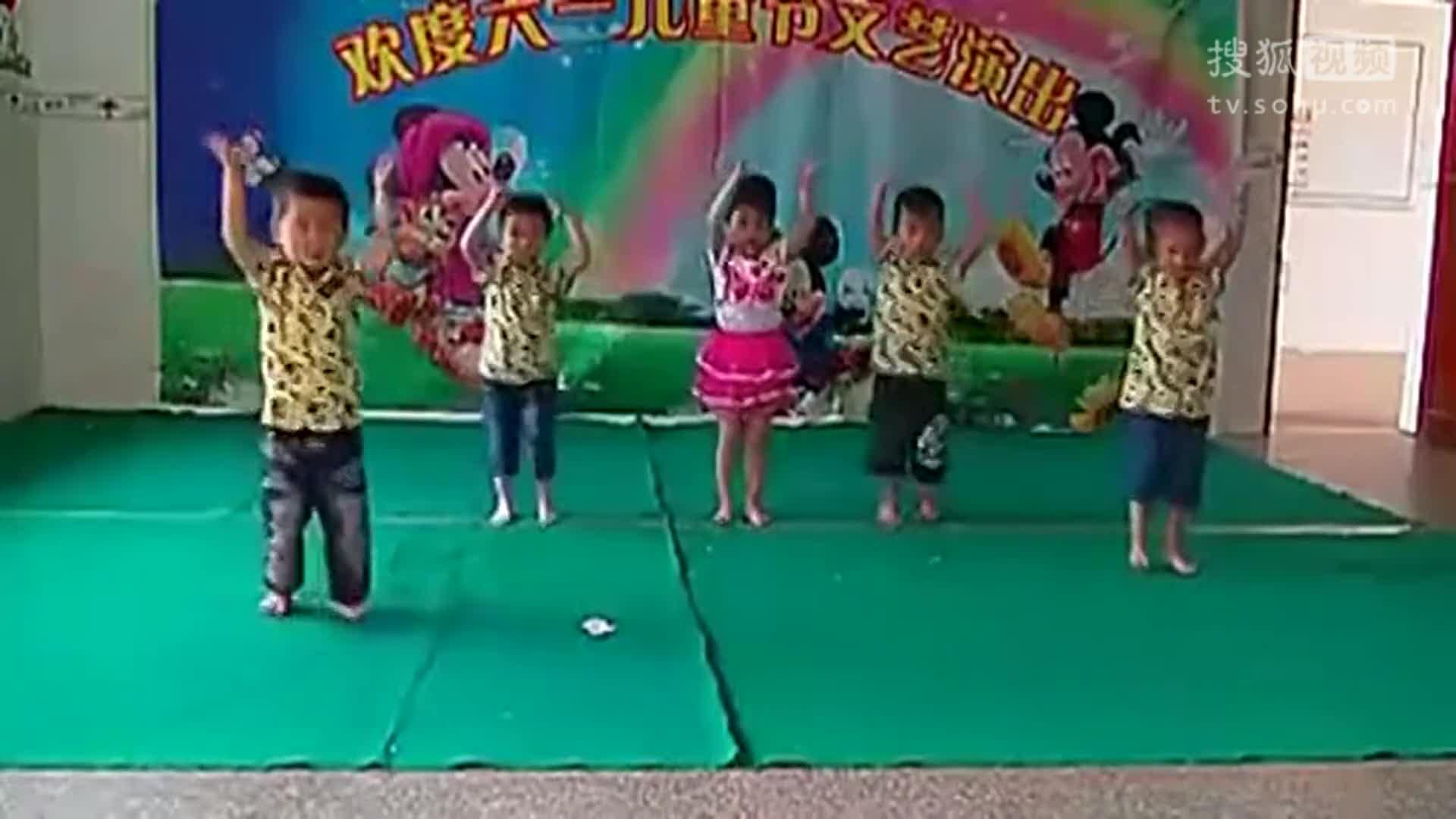 儿童舞蹈视频大全 幼儿园小班舞蹈小龙人