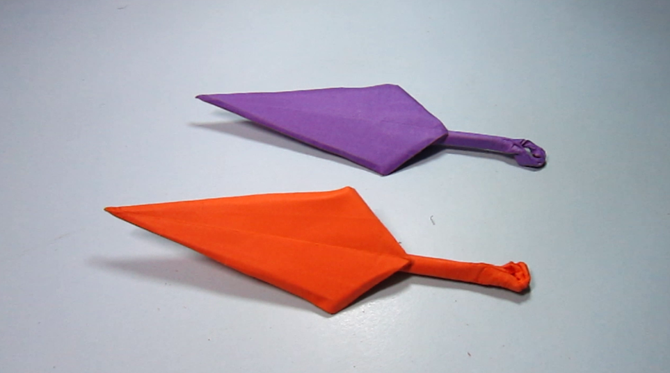 儿童手工折纸飞镖 飞镖的简单折法