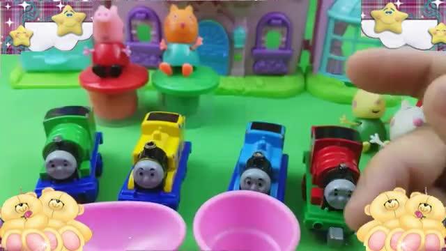 小猪佩奇彩泥橡皮泥 托马斯小火车玩具