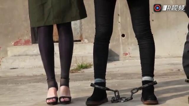 高跟鞋镣铐(模特演员试镜)真监狱真镣铐拍摄的大型禁毒题材电视剧《凋