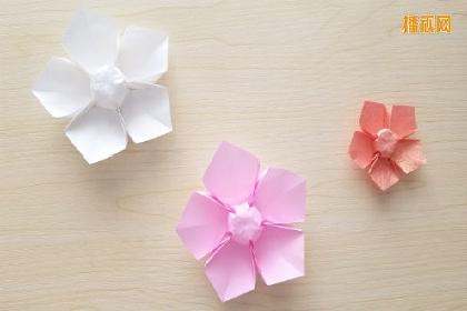 小花的折法 折纸大全
