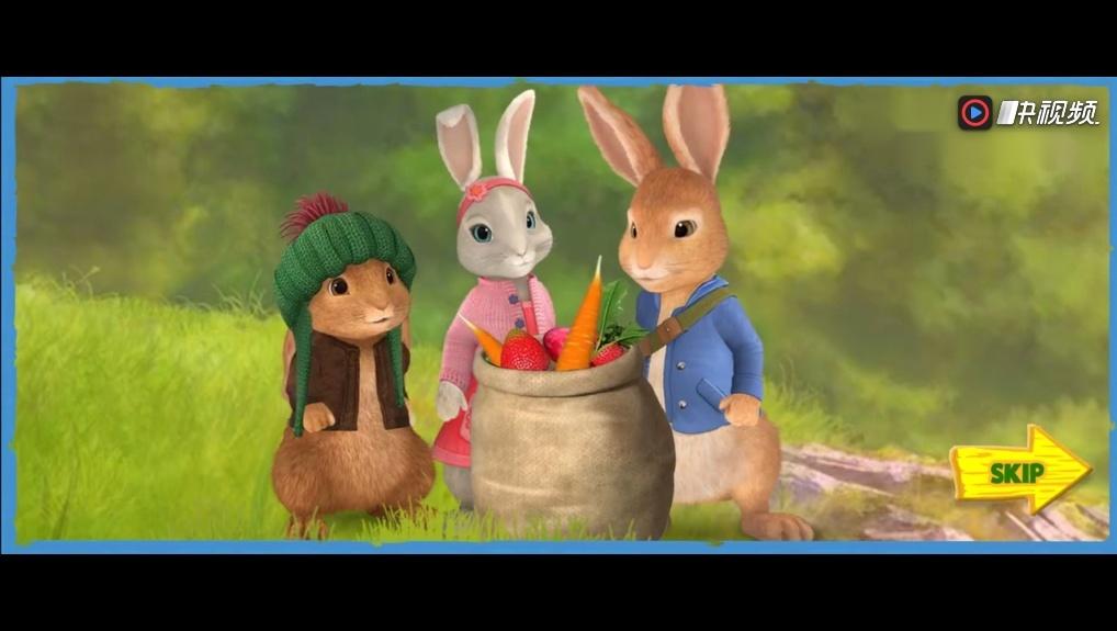 比得兔 本杰明 莉莉这三只小兔子躲避托德先生那只狐狸的追赶 疯狂