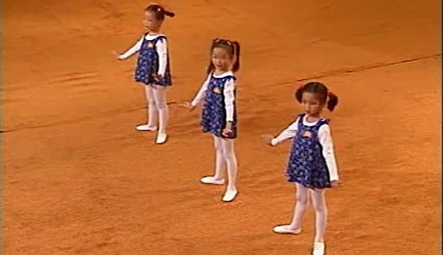 儿童舞蹈教学视频 基础--头部动作 幼儿舞蹈