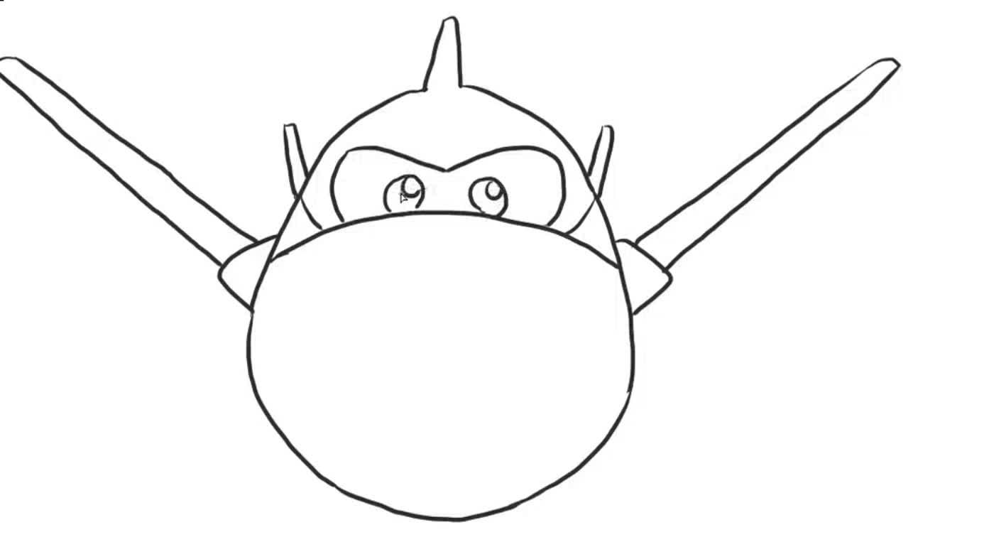 超级飞侠儿童亲子简笔画-亲子第二十玩-童年梦玩具