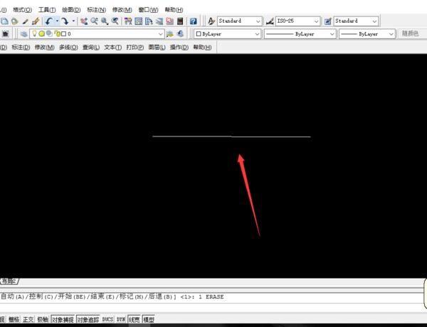 cad中多段线线性很粗,设为默认值,变细CAD复制到图word变小后图片