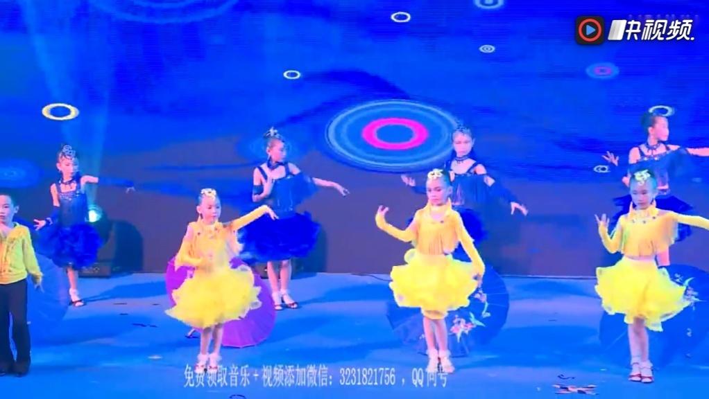 2018最新幼儿园男孩六一舞蹈《荷塘月色》
