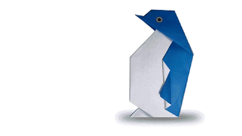 折纸企鹅 企鹅折纸视频教程