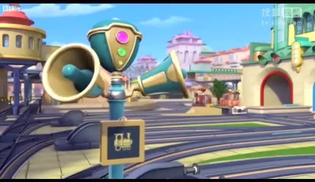 火车宝宝chuggington 英文启蒙动画片 第一季 21-小小世界-拉菲娱乐q