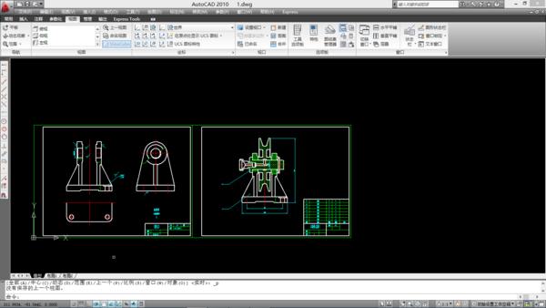 把图纸cad图纸合并到一起CAD超长转6多张米PDF图片