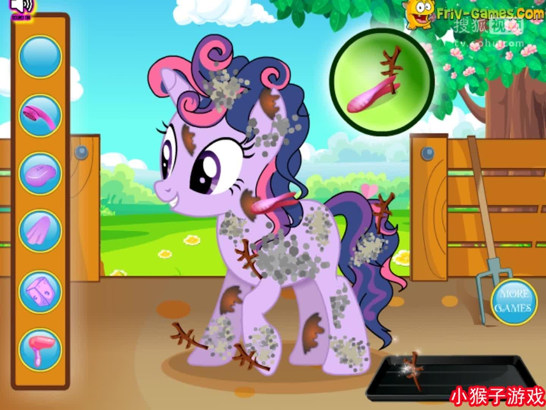 可爱小马在农场 小马宝莉之魔法公主大电影 小马宝莉动画片全集.