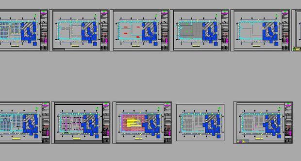 CAD图框内的图一个删除或修改其它图框也跟怎么改cad字体的图片