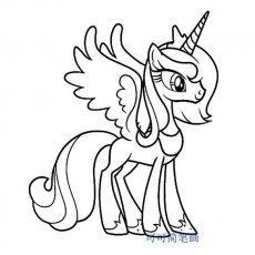 有没有人有笔画宝莉的简小马?打理每天早上怎么烫发图片