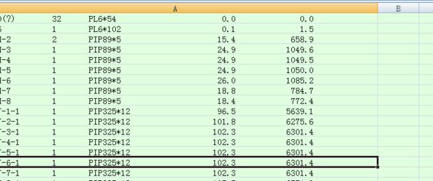 将tekla图缩放的密令构件数据分列,导出一cad清单视口不在图片