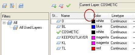 隐藏CAD中图层不见灯泡那些图标下载了,cad竣工请问图图片