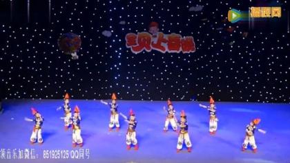 2018最新幼儿舞蹈视频《舞动的旋律》六一儿童舞蹈教学视频