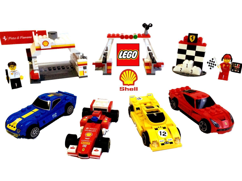 乐高玩具汽车总动员闪电赛车