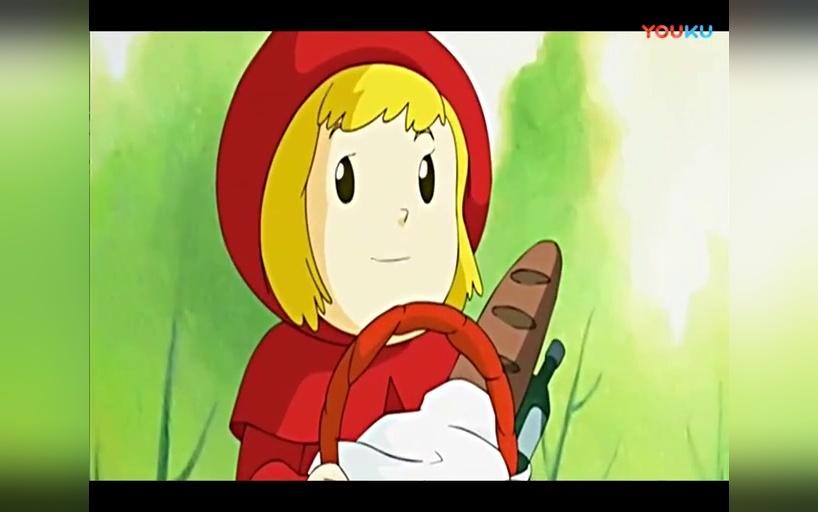 儿童英语早教动画片 儿童英语早教动画片 故事小红帽与大灰狼的故事