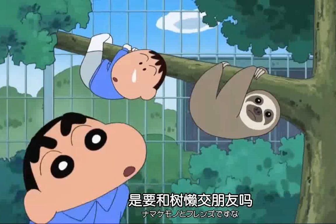 视频:《蜡笔小新》大家当起了动物饲养员!