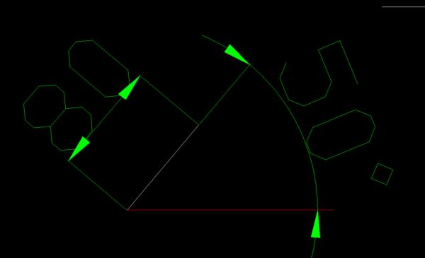 用CAD画长度直线和方位角何用如cad面积量图片
