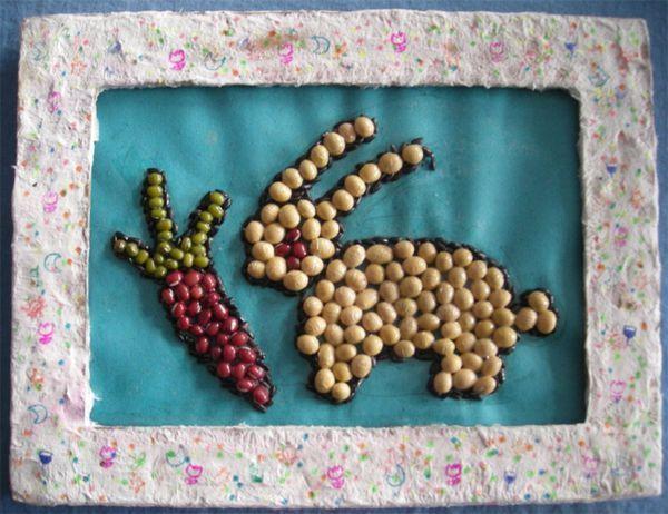 手工制作红豆