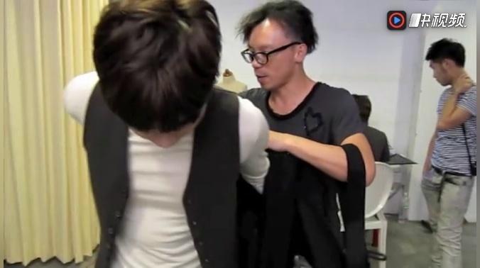 李易峰开司动物世界 李易峰在纽约徐天 ep制作花絮之试装