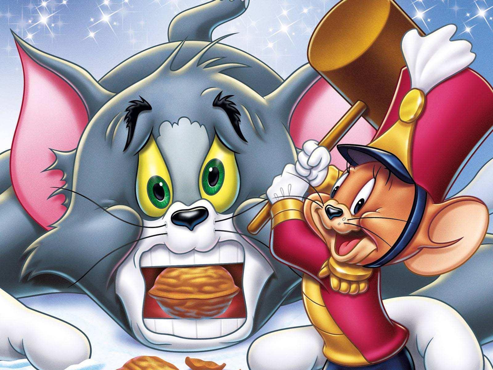 猫和老鼠汤姆在女巫
