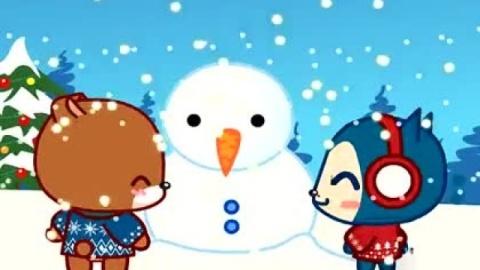 可爱阿狸的圣诞节 超萌动画短片